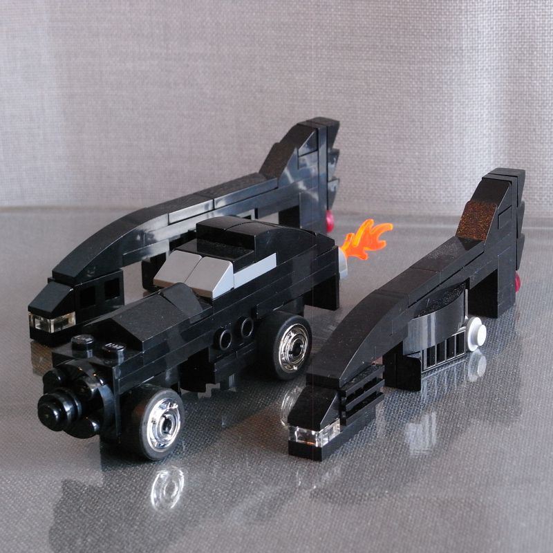1992 Movie Batmobile (4-Wide)