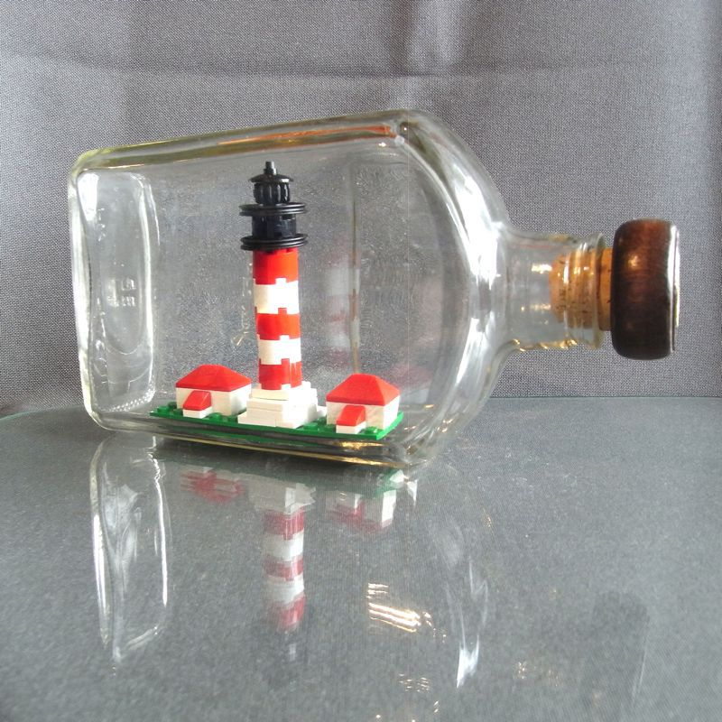 Lighthouse in a Bottle