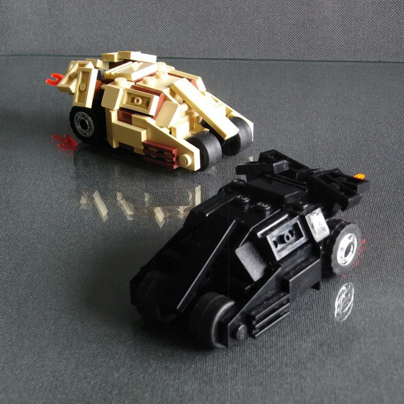 Batmobile Tumbler V1.2 (4-Wide)