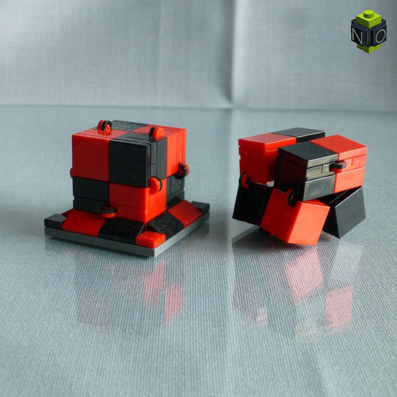 "Magic Folding ""Fidget"" Cube"